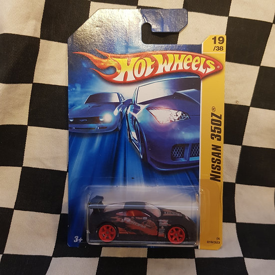 Hot Wheels 2006 First Editions Nissan 350z JDM Rare