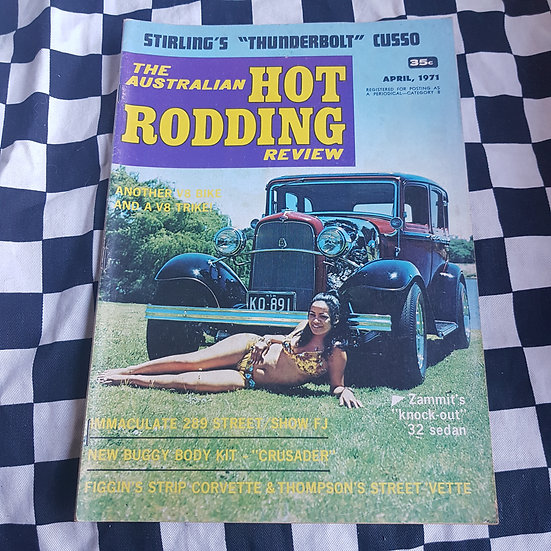 Australian Hot Rodding Review April 1971