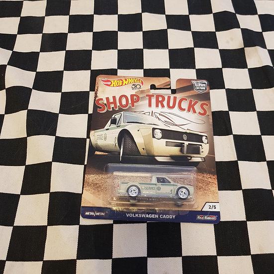 Hot Wheels Car Culture Shop Trucks Volkswagen Caddy Real Riders