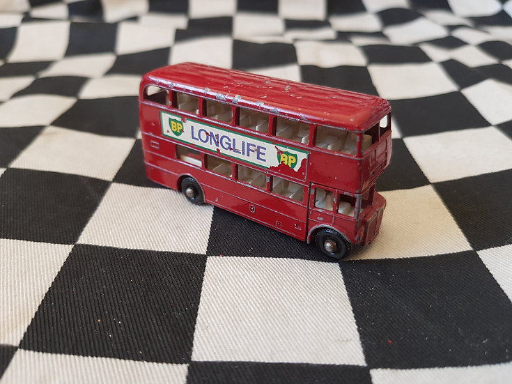 Vintage Lesney BP Longlife Routemaster Bus