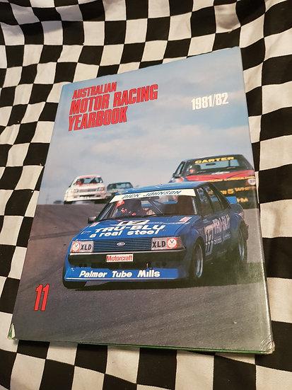 AUSTRALIAN MOTOR RACING YEARBOOK 1981-82