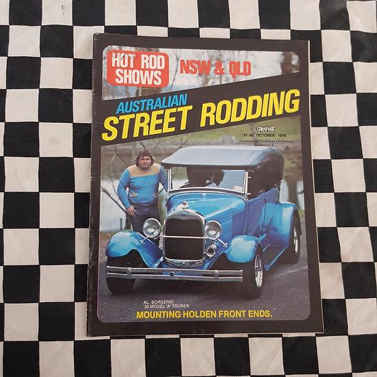 Australian Street Rodding #7 Oct 1978