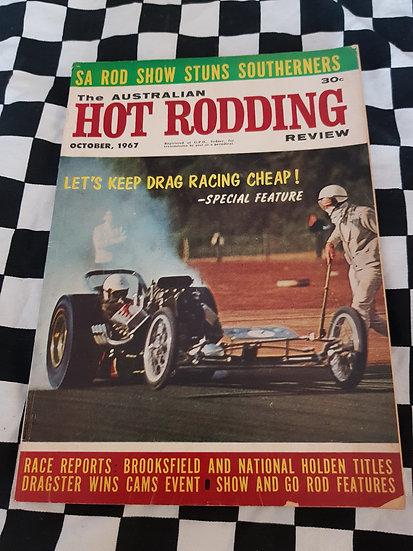 Australian Hot Rodding Review magazine October 1967