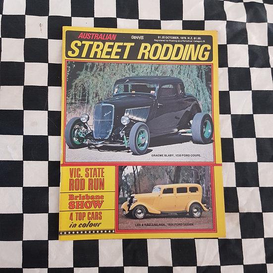 Australian Street Rodding #11 Oct 1979