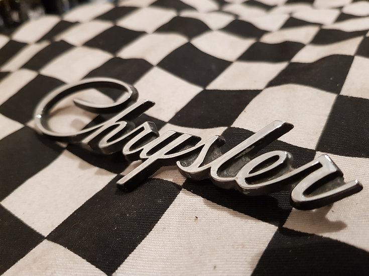Original Chrysler Badge