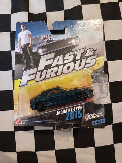 Fast & Furious 1:50 2015 Jaguar F Type