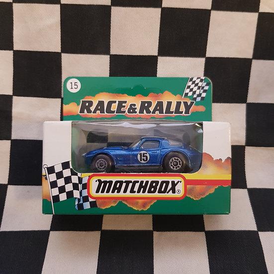 Matchbox 1991 Race & Rally Corvette Grand Sport 64-67