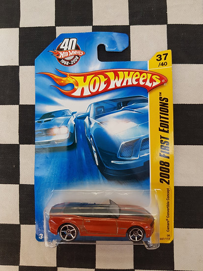 Hot Wheels 2008 First Editions Camaro Convertible Concept