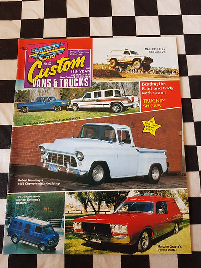 CUSTOM VANS & TRUCKS magazine #52