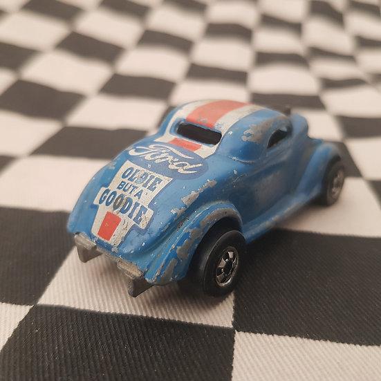 Vintage Loose Hot Wheels Neet Streeter Blackwall Blue