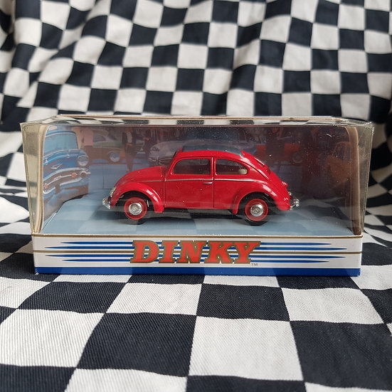 Dinky 1:43 By Matchbox Boxed 1951 Volkswagen Beetle Red