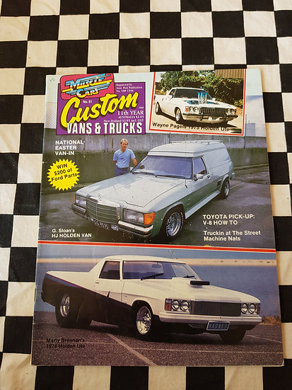 CUSTOM VANS & TRUCKS magazine #51