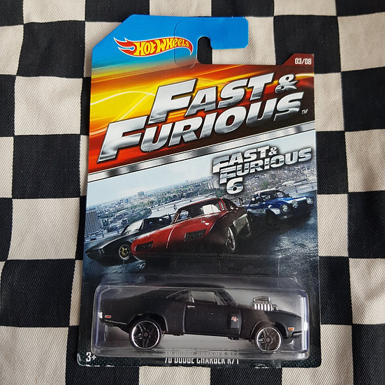 Hot Wheels 2014 Fast & Furious 70 Dodge Charger R/T