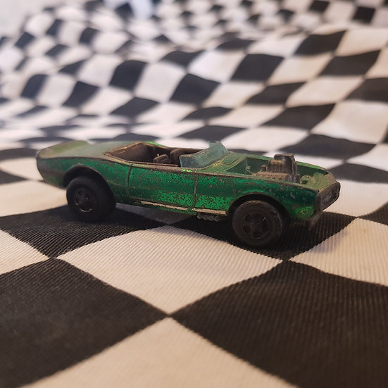 Hot Wheels Redline Light My Firebird Green