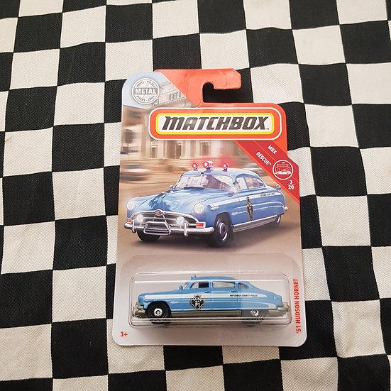 Matchbox 51 Hudson Hornet Police Car