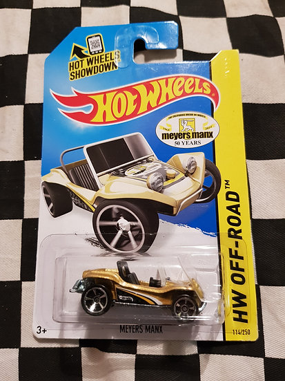 Hot Wheels 2013 Off Road 50th Anniversary Meyers Manx