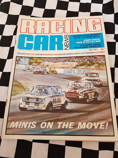RACING CAR NEWS 5/77 Mini