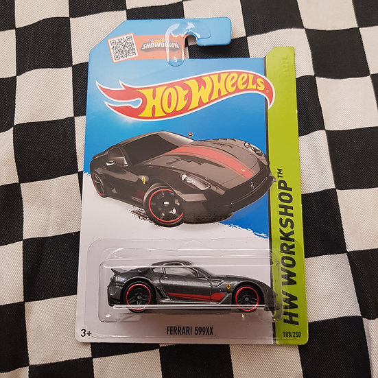 Hot Wheels 2013 Workshop Ferrari 599XX