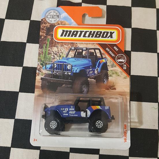 Matchbox MBX 60 Jeep 4x4 Blue