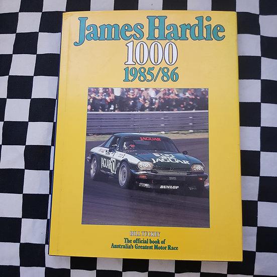 James Hardie 1000 1985/86 Bill Tuckey Bathurst Book