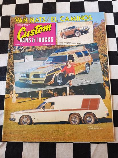 CUSTOM VANS & TRUCKS magazine #35