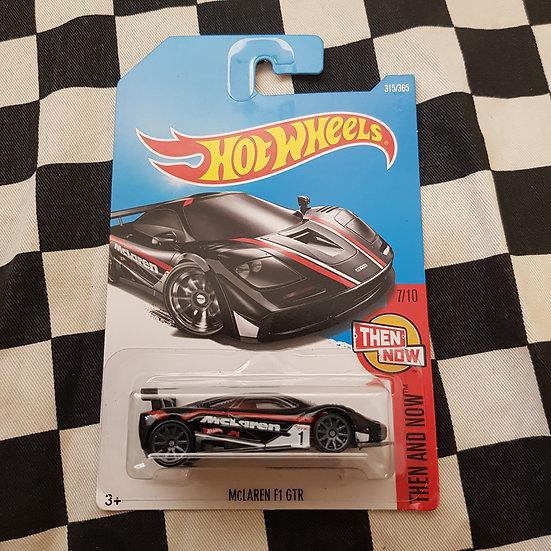 Hot Wheels 2015 Then & Now Mclaren F1 GTR
