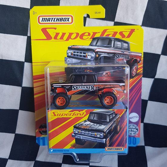 Matchbox Superfast 1968 Dodge D200 Pickup