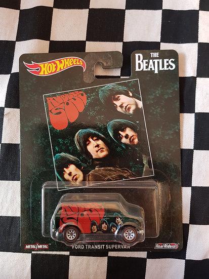 Hot Wheels Retro Entertainment BEATLES Ford Transit Van Rubber Soul