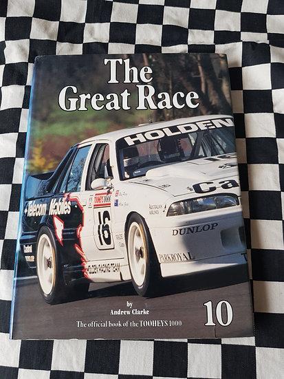 The Great Race 1990 -91 Book #10 Bathurst Tooheys 1000
