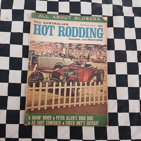 Australian Hot Rodding Review Nov 1968