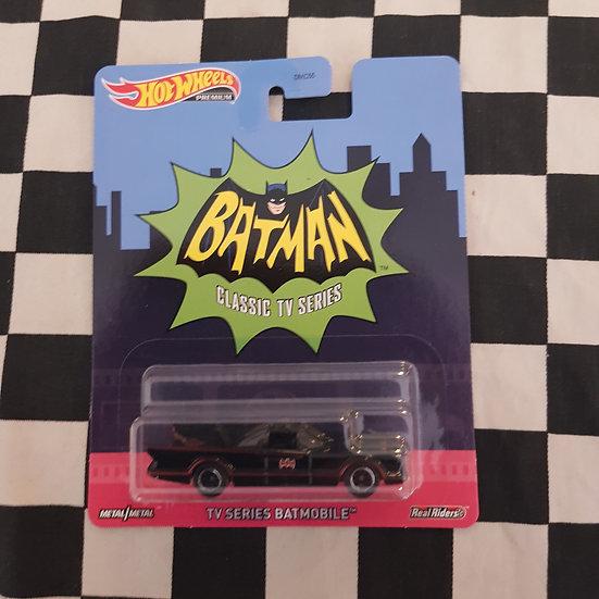 Hot Wheels Premium  Batman TV Series Batmobile Real Riders