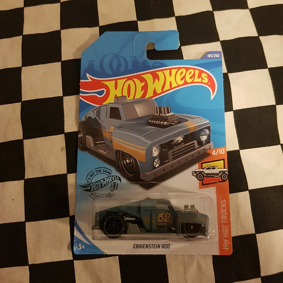 Hot Wheels 2020 Hot Trucks Erikenstein Rod Blue