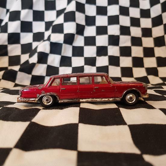 Vintage Corgi Mercedes Benz 600 Pullman Limo Red