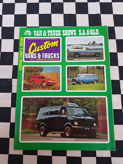 CUSTOM VANS & TRUCKS magazine #2 MINT