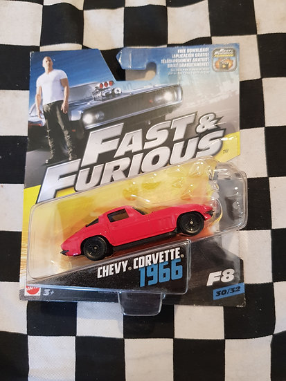 Fast & Furious 1:50 1966 Chevy Corvette