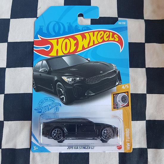 Hot Wheels 2021 Turbo 2019 Kia Stinger Gt Black