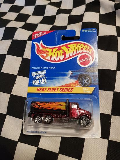 Hot Wheels Peterbilt Tank Truck Heat Fleet 1996