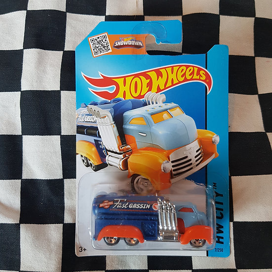 Hot Wheels 2013 City TREASURE HUNT Fast Gassin