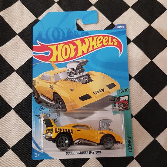 Hot Wheels 2020 Treasure Hunt Tooned Dodge Charger Daytona Yellow