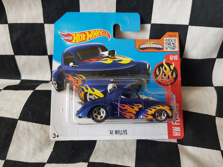 Hot Wheels 2015 Flames Series 41 Willys