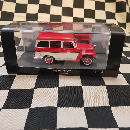 Neo Scale Models 1:43 Jeep Wagoneer Limited Edition 1/500