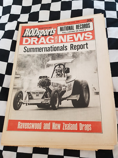Australian Rodsports Drag Racing News #154