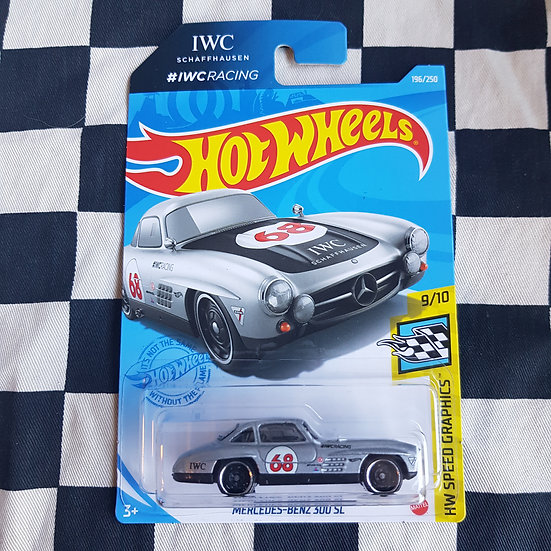 Hot Wheels 2021 Speed Graphics IWC Racing Mercedes Benz 300 SL