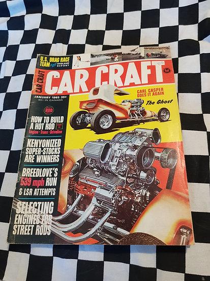 CAR CRAFT Magazine January 1965