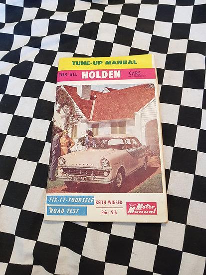 RARE! Tune up Guide for All HOLDEN's FX FJ FE FC FB