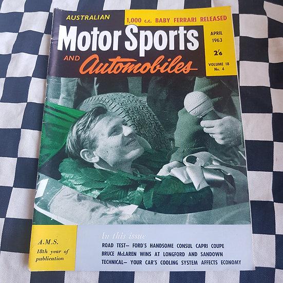 Australian Motor Sports & Automobiles APRIL 63
