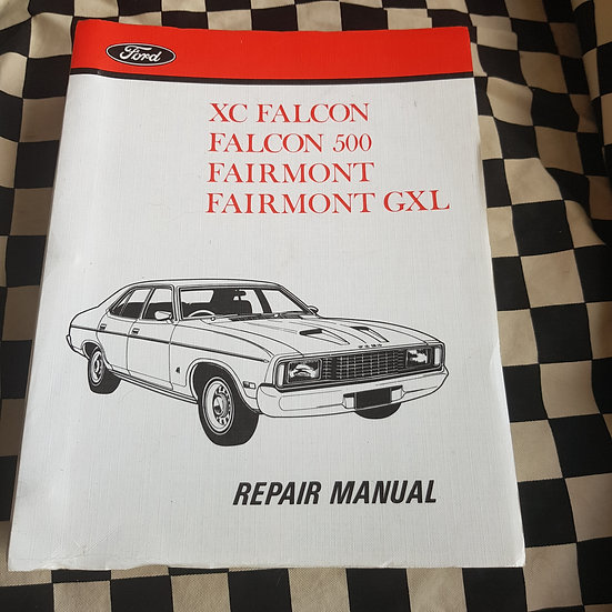 Genuine Ford XC Falcon Fairmont 500 GXL Workshop Manual
