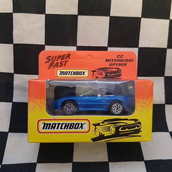 Matchbox Superfast 1993 Mitsubishi Spyder Boxed