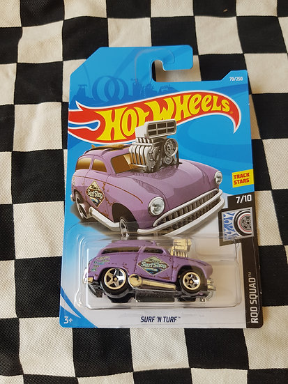 Hot Wheels 2019 Rod Squad Surf & Turf Purple