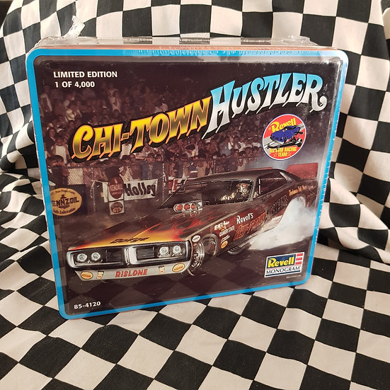 Chi Town Hustler Funny Car Model Kit 1:25 in Limited Edition Metal Tin